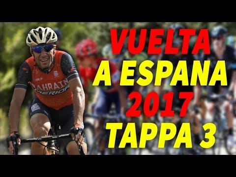 VUELTA A ESPANA 2017 | TAPPA 3 | Nibali vince ad Andorra