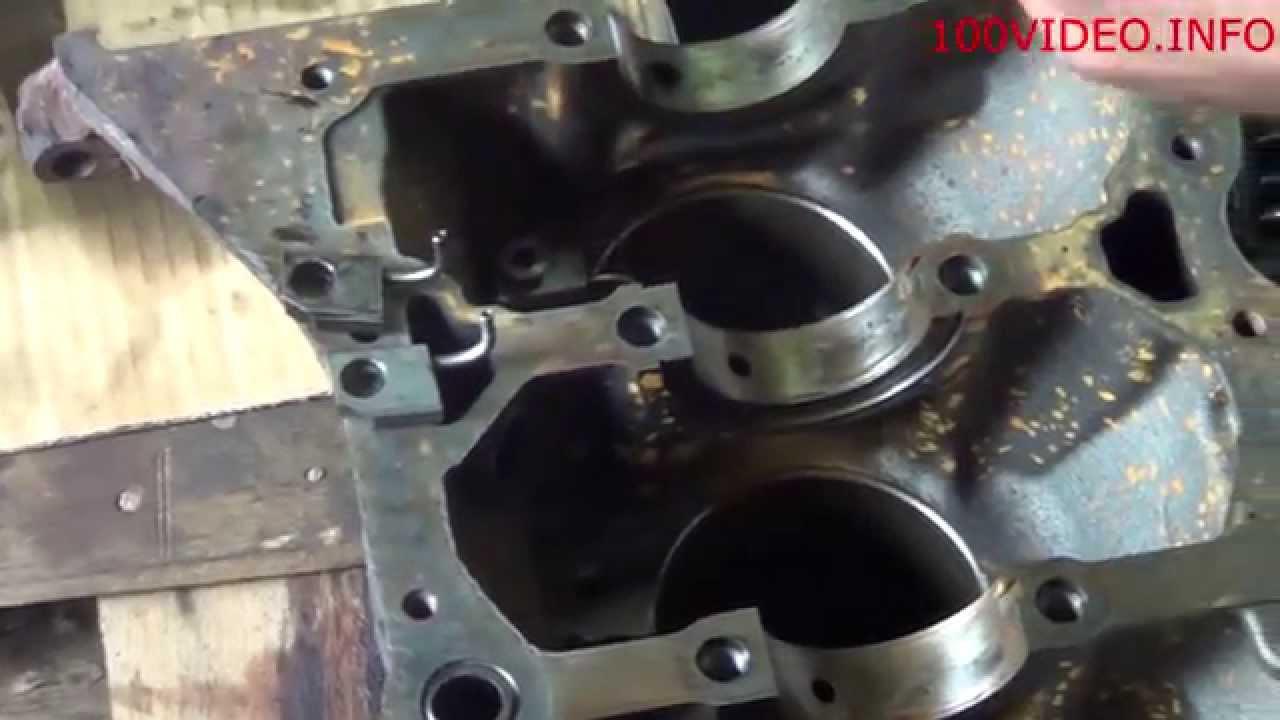 Установка масленых форсунок на двигателе 2.5 Opel vivaro начало сборки