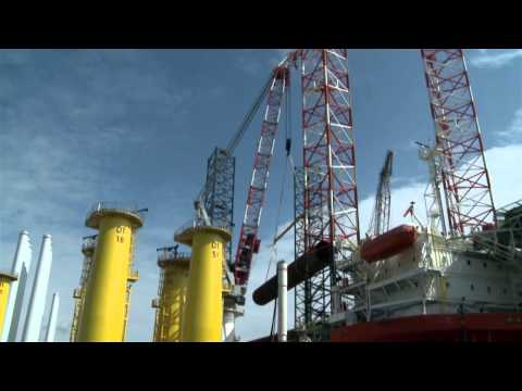 Liebherr - Heavy Lift Offshore Cranes up to 2,000 t lifting capacity