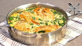Creamy Tuscan Garlic Chicken | One Pan Family Meal