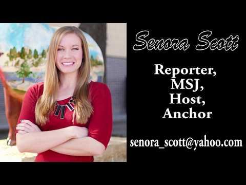 Senora Scott anchor, reporter, MSJ, host reel fall 2017