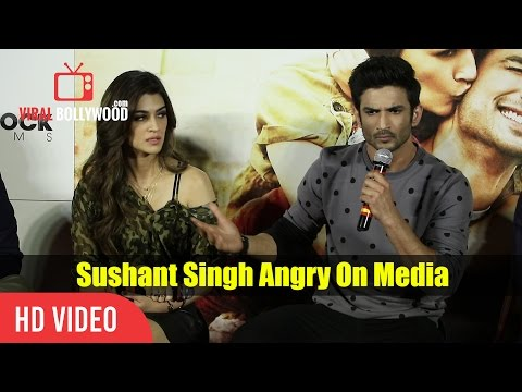 Thumbnail: Sushant Singh Rajput Get Angry On A Media Reporter | Raabta Trailer Launch | slams Media Reporter