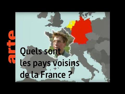 Quels sont les pays voisins de la France ? - Karambolage - ARTE
