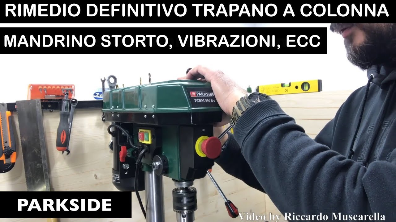 Parkside Lidl Ptbm 500 D4 Column Drill Remedy Latest Model Spindle E5 Solutions