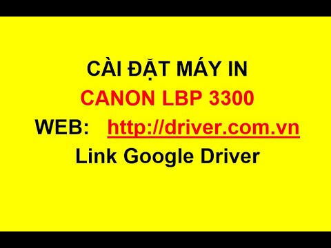 Máy in canon 3300 – Download Driver máy in canon 3300, Canon 3300 printer driver – Driver.com.vn