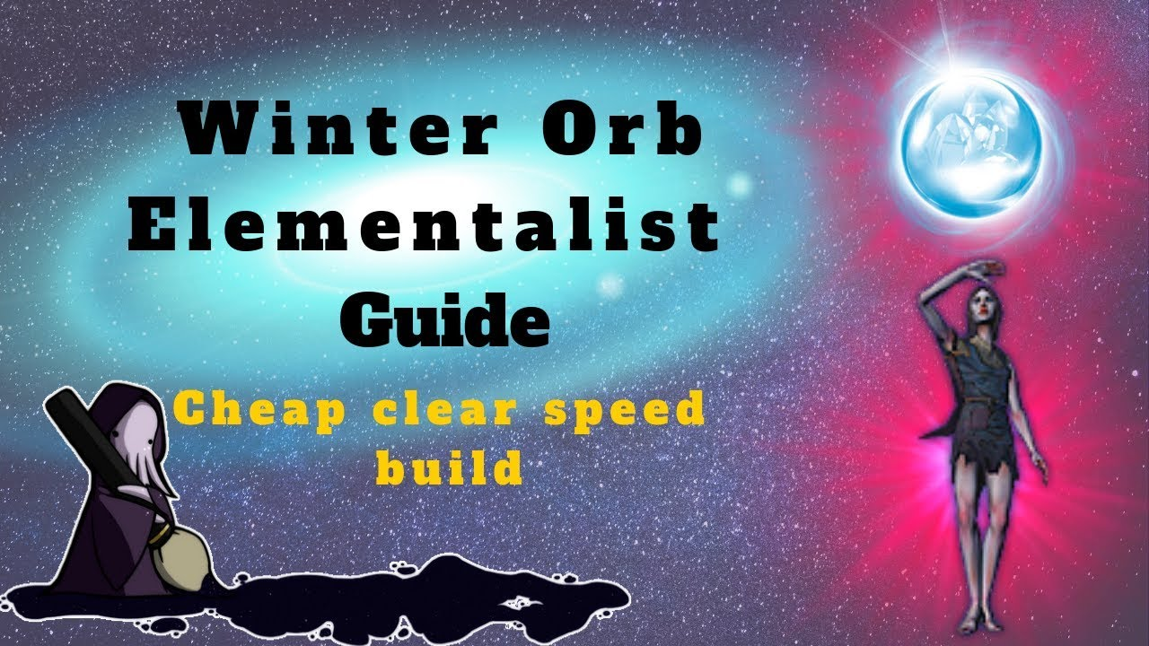 path of exile 3 6 winter orb elementalist guide insane. Black Bedroom Furniture Sets. Home Design Ideas