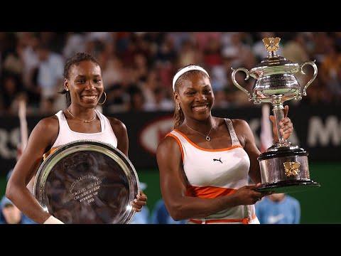 Serena Williams vs Venus Williams 2003 AO Highlights