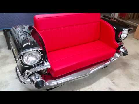 Car Furniture 1957 Chevrolet front end car couch -- Classic Couches ...