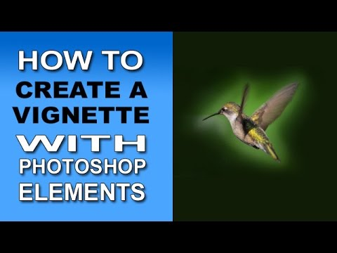 How To Create A Vignette With Photoshop Elements