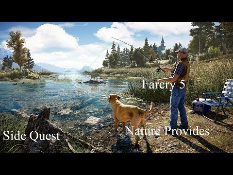 Far Cry 5 Side Quest Nature Provides