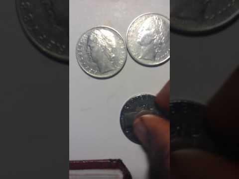 Italianate coin 1961 -1972-1977 before  Europe   Coin