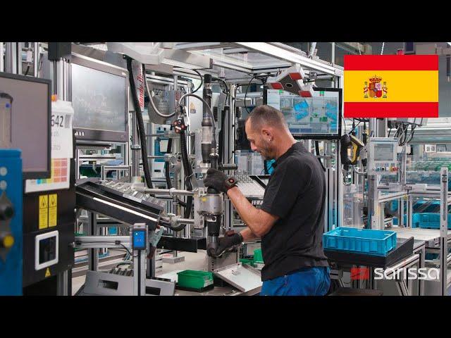 Sarissa en acción en SFB Schwäbische Formdrehteile
