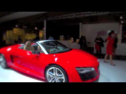 2014 Audi R8 V10 Spyder at Design Miami Art Basel