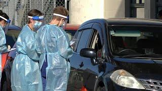بالفيديو.. تهافت المواطنين لإجراء فحوصات كورونا بنيوزيلندا بعد عودة الإصابات