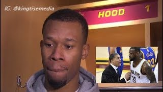 Rodney Hood Calls Out LeBron & Cavs Before Warriors vs Cavs NBA Finals Game 2