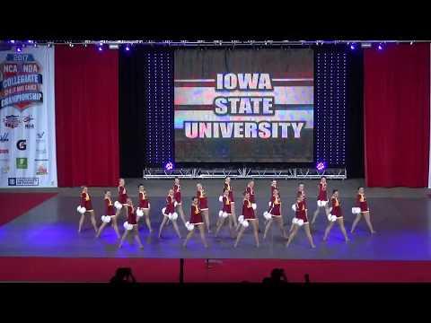 Iowa State Dance Team - Pom Nationals 2017