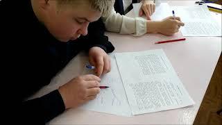 Видеофрагмент урока технологии 6 класс. Учитель: Фёдорова Ирина Евгеньевна