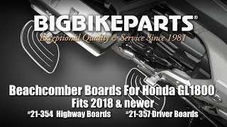2 Pack Show Chrome Accessories 52-932 2018-Honda GL1800 Lower Cowl Highway Trim