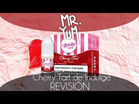 Líquido Cherry Tart de Indulge | Revisión vaperil