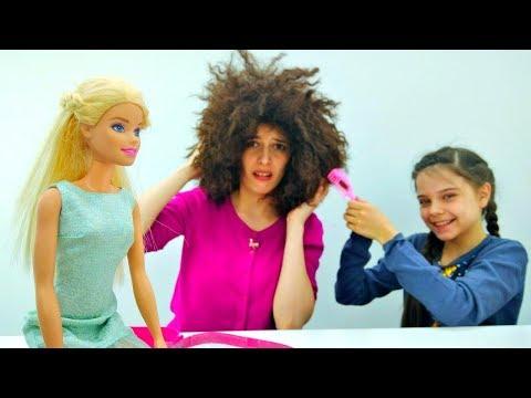Парикмахерский салон Барби! - Причёска для свидания – Игры в парикмахерскую.