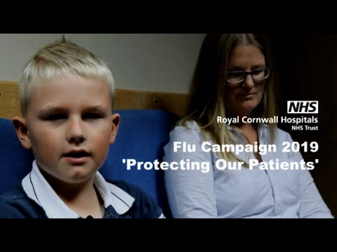 Protecting Our Patients - The Royal Cornwall Hospitals Flu Campaign 2019