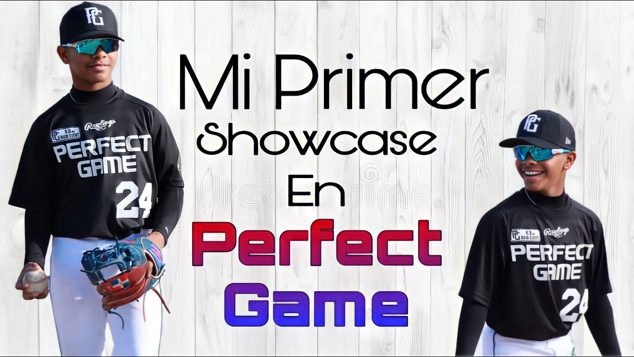 Primer Showcase en Perfect Game del Prospecto Enmanuel Beltre