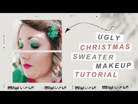 UGLY CHRISTMAS SWEATER MAKEUP TUTORIAL 🎄🎅 | CHATTY GRWM thumbnail