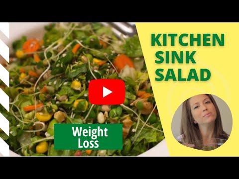 Weight Loss Salad Recipe Video [aka