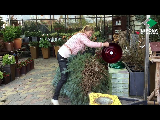 Zet je kerstboom op in 5 seconden! | EasyFix | Lepona Tuinarrangeurs