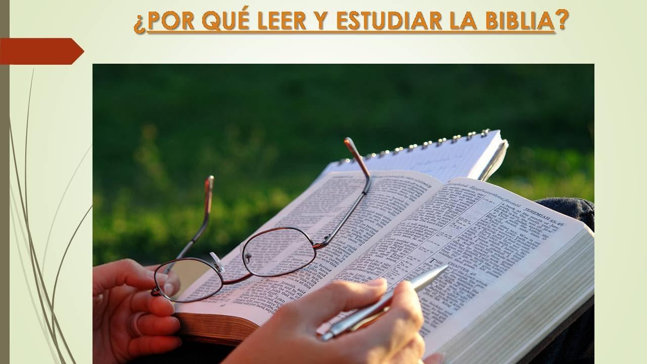 Resultado de imagen de ¿Por qué debemos leer / estudiar la Biblia?