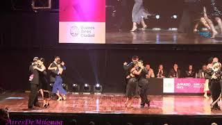 Final Pista, Mundial de Tango 2018  Ronda 3