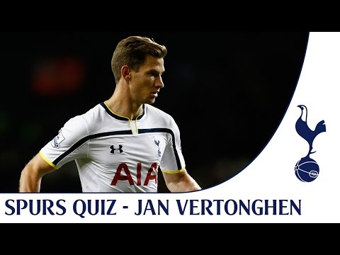 Jan Vertonghen takes the Spurs quiz