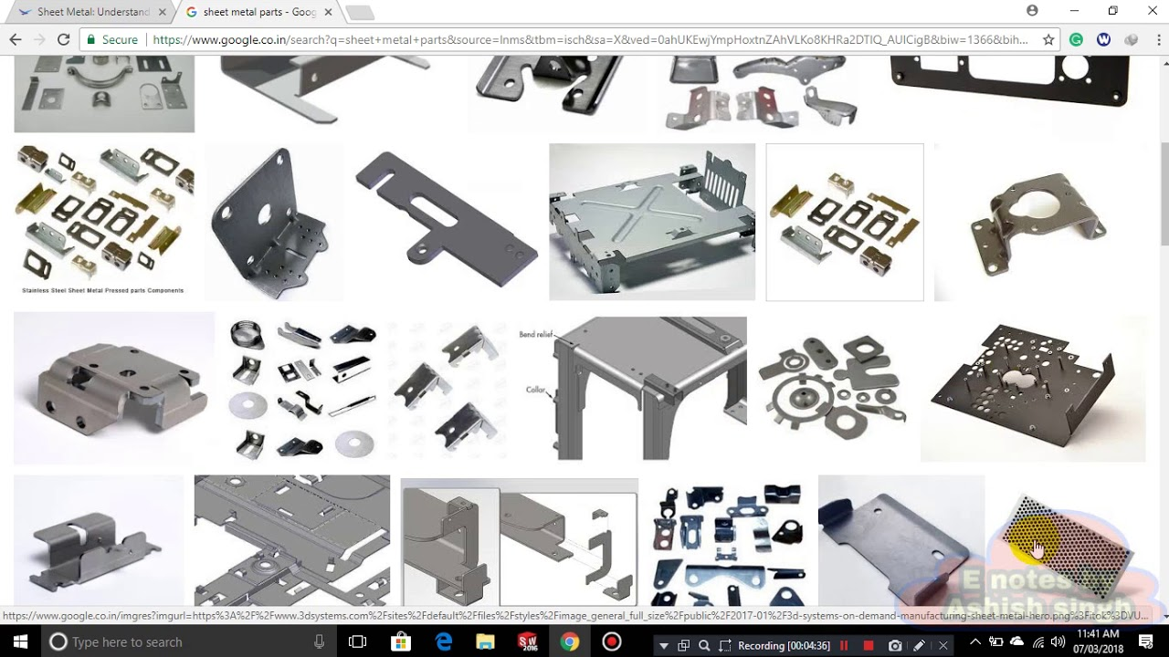 Solidwork Tutorial 39 : SHEET METAL INTRODUCTION