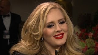 Download Adele Interview at Oscars: Life 'Could Have Been Grim ... and It's Not' - Academy Awards 2013 Mp3 and Videos