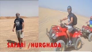 ÇÖLDE ATV VE DEVE TURU #mısır #agypt