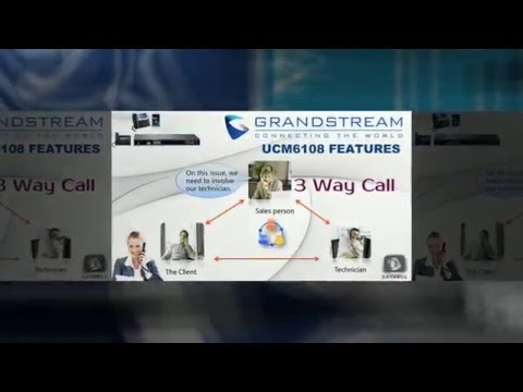 Grandstream UCM6108 Dubai | IP Telephone System for office i