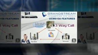 Grandstream UCM6108 Dubai | IP Telephone System for office i