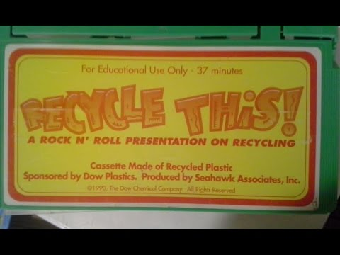 Recycle This! A Rock N' Roll Presentation on Recycling [VHS] [1990]