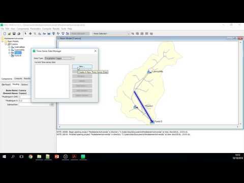 Tutorial de Modelamiento Hidrológico de una Avenida Máxima con HEC HMS