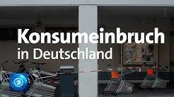 Konsumklimaindex: schwere Rezession erwartet