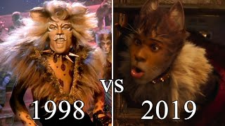 Cats (musical) 1998 vs. 2019 Comparison