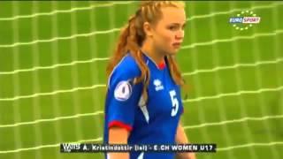 Funny Female Goal Keeper