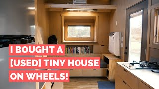 I Bought A  Used  Tiny House On Wheels—the Full Tour!