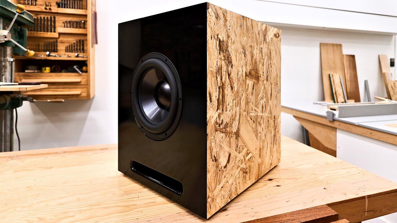 Making A Ed Sub Woofer High Quality B Diy Speaker
