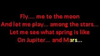 Tony Bennett Fly me to the moon with Lyrics