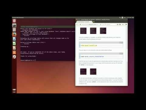 Install Open Source MySQL Database Management For Ubuntu