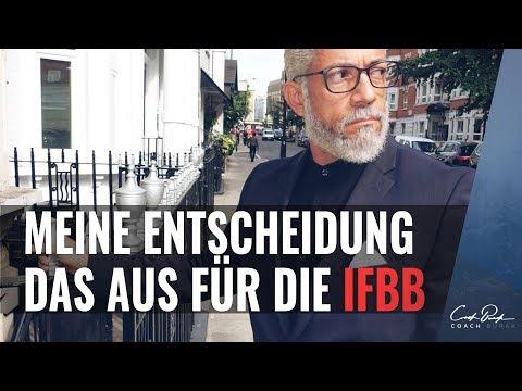 DAS AUS FÜR DIE IFBB! - MEINE ENTSCHEIDUNG!