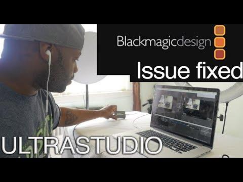 Blackmagic UltraStudio Mini (no Device Detected Fixed)