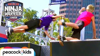Battle for the Buzzer (11-12 Year Old Semifinals) | AMERICAN NINJA ...