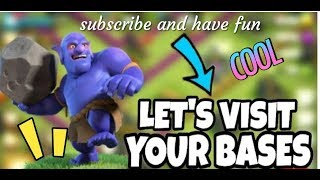 Clash of Clans live base review!!
